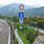 Sarche River biking