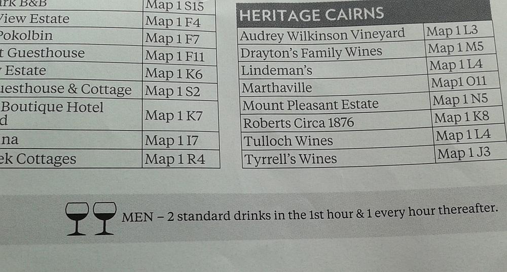 wijn proeven in Hunter Valley