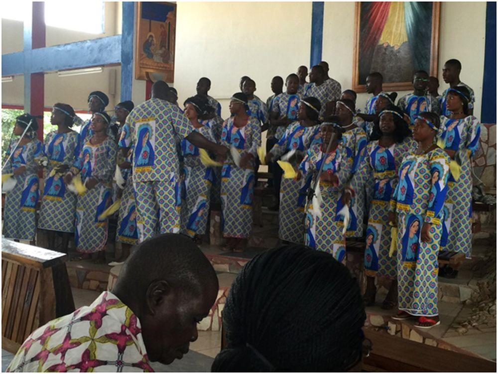kerkdienst Ivoorkust