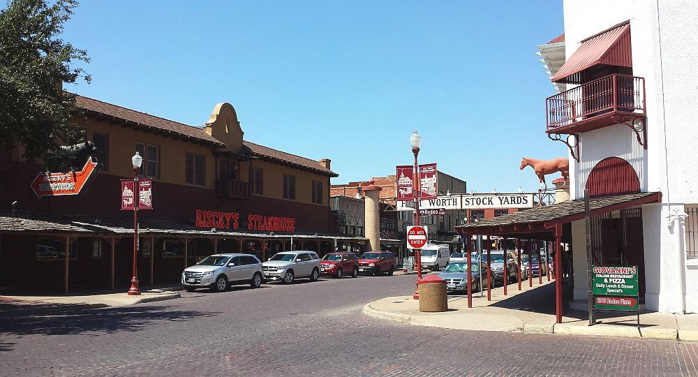 Ft Worth stockyard
