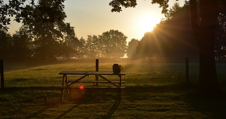 zonsopgang Friesland