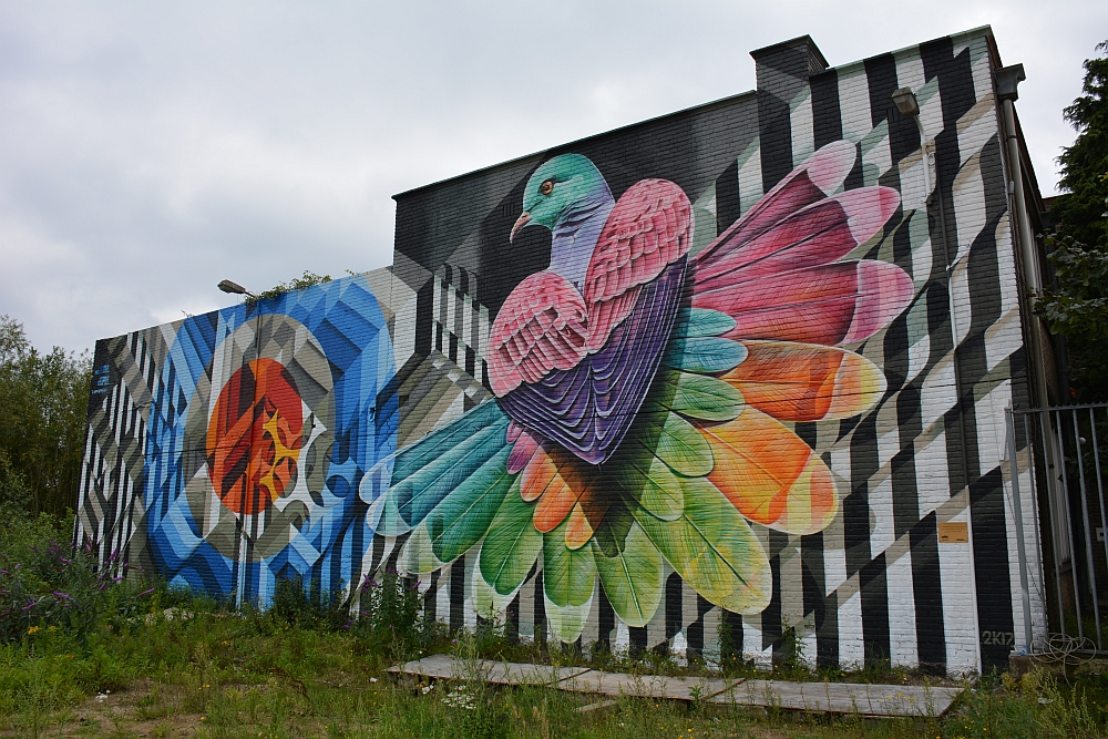 oude melkfabriek Coberco, Street Art