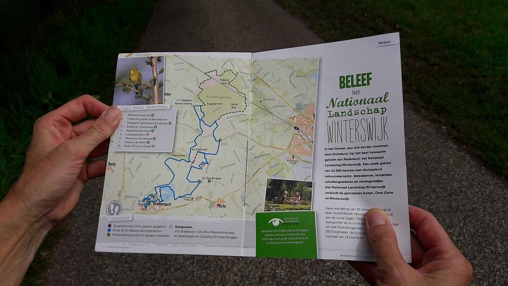 route Nationaal Landschap Winterswijk