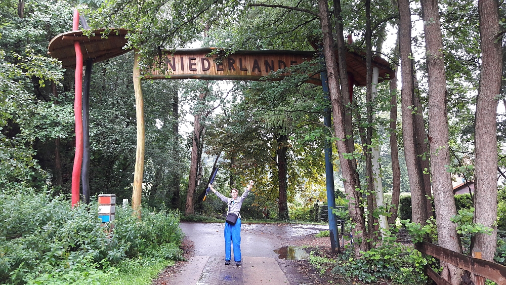 grens Nederland Duitsland in Twente