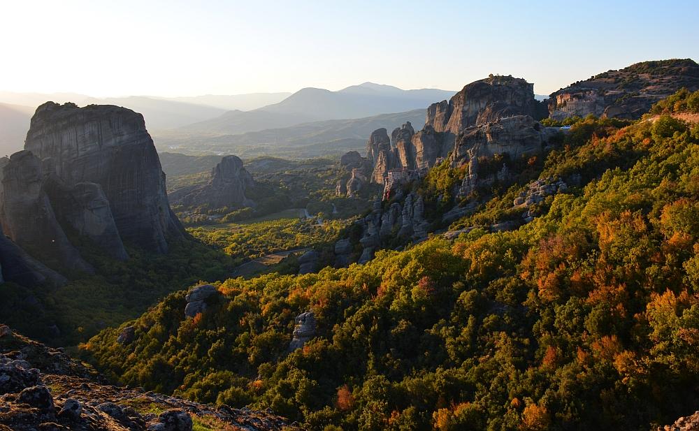 Meteora Greece fallcolours