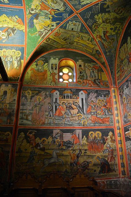 oude muurschilderingen Griekenland
