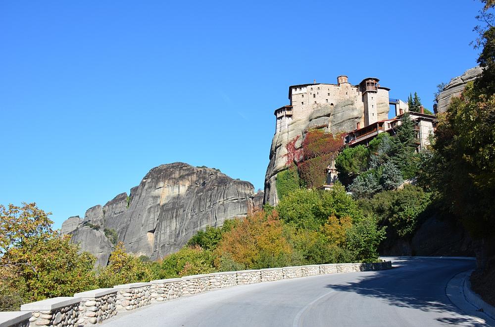 Meteora monastery of Rousanou