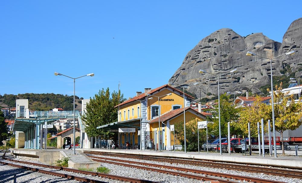 treinstation Kalambaka