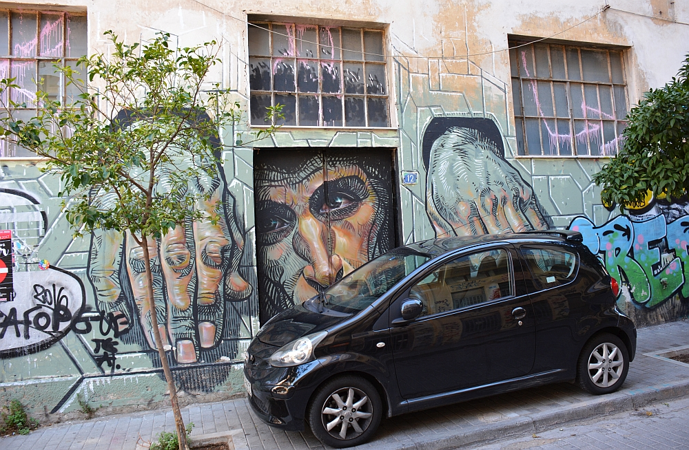 street art in Athene