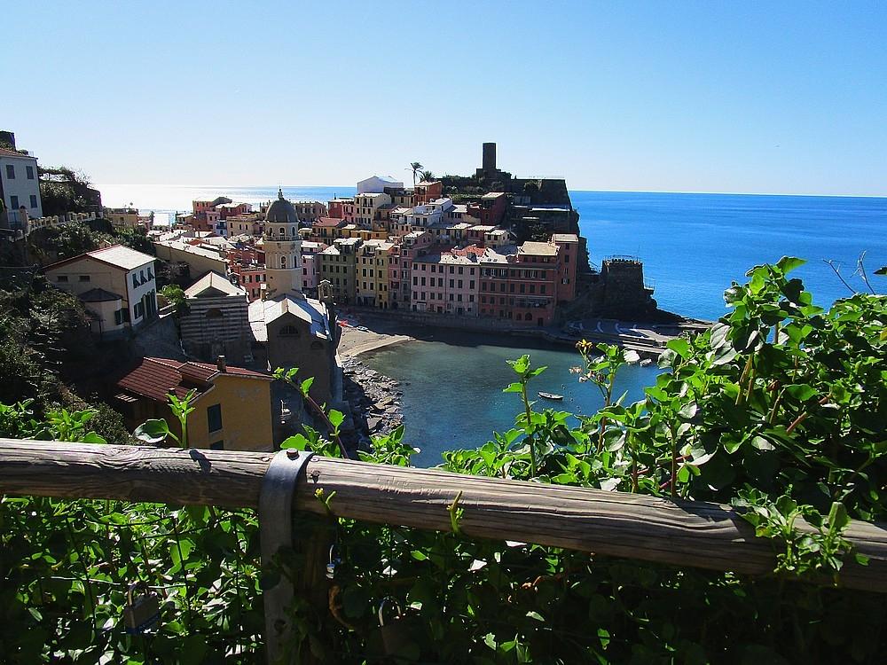 Wandelen bij de Cinque Terre