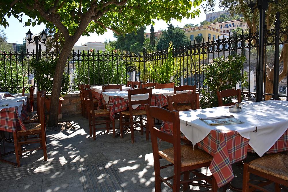 terrasje Athene