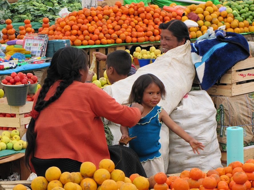 market San Juan de Chamula  Mexico
