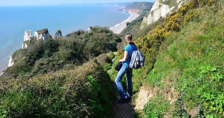mooiste reisfoto's van 2017 , Sout West Coast Path Engeland