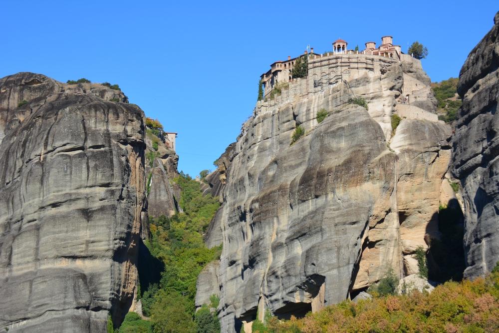Wandelen in Meteora