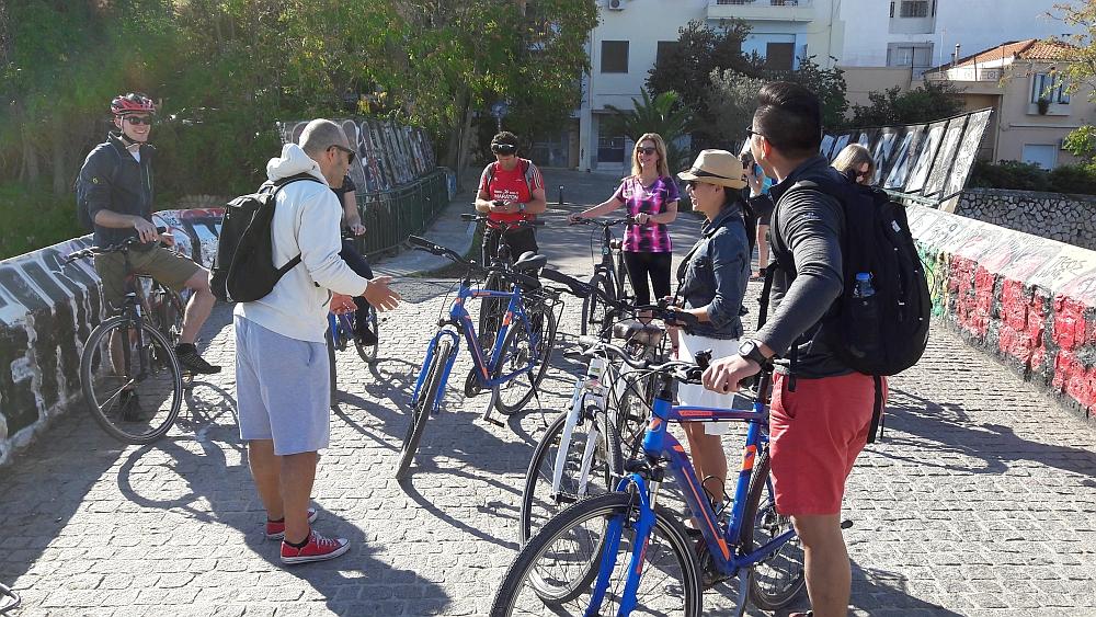 Fietsen in Athene Athens by bike