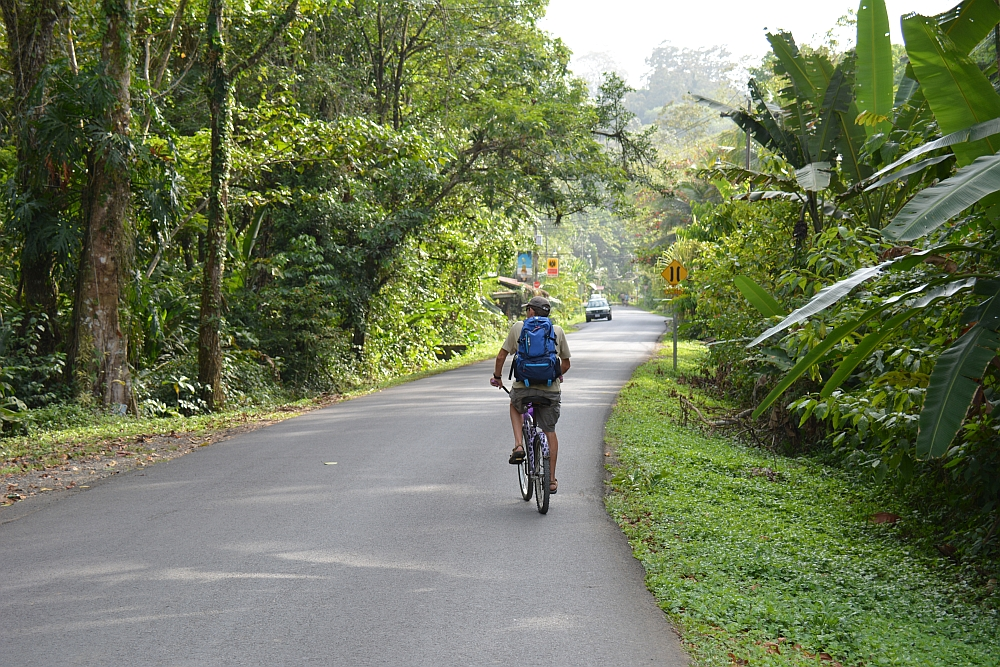 fietsen in Costa Rica