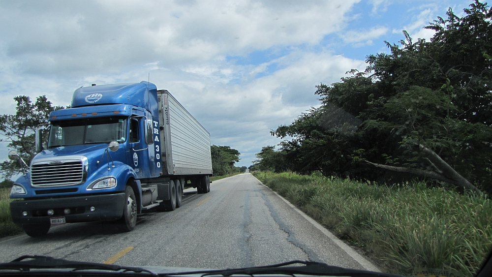 Route door Mexico, Yucatan met de auto