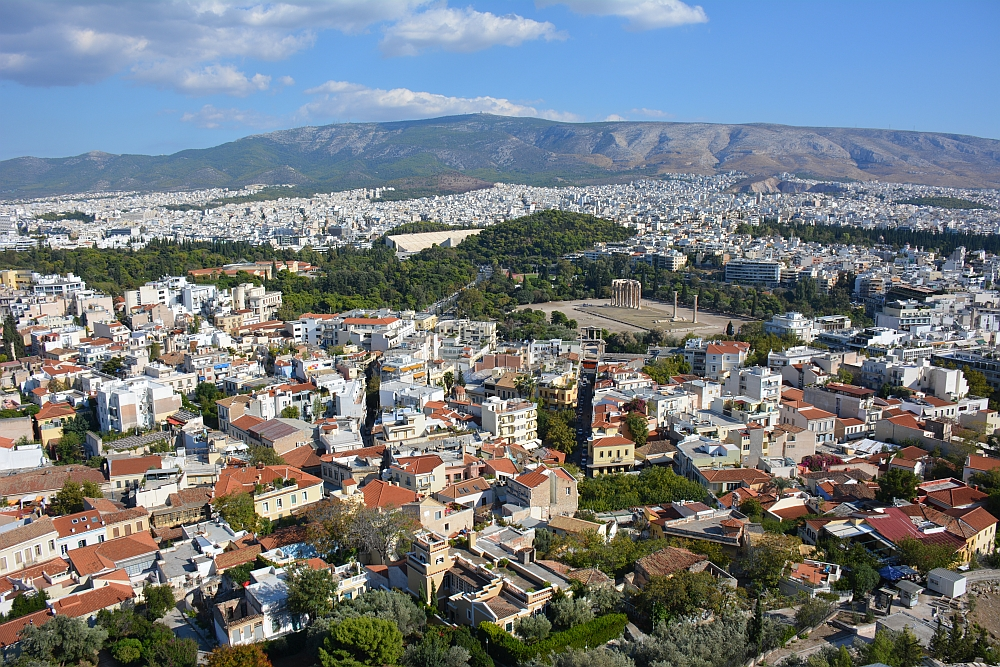 uitzicht Acropolis