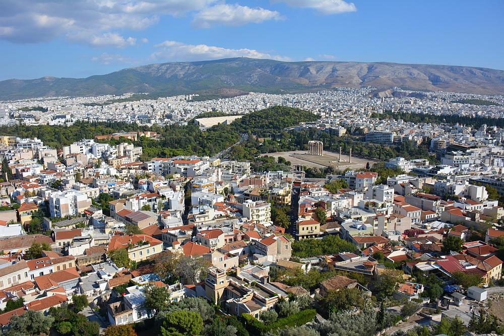 uitzicht Acropolis Athene