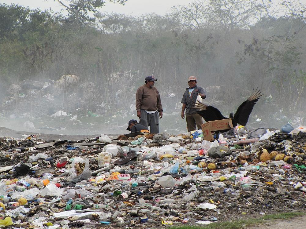 vuilnisbelt Mexico, consuminderen