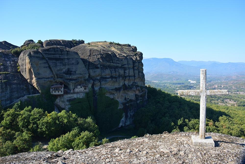 wandelen in Meteora Ypapanti