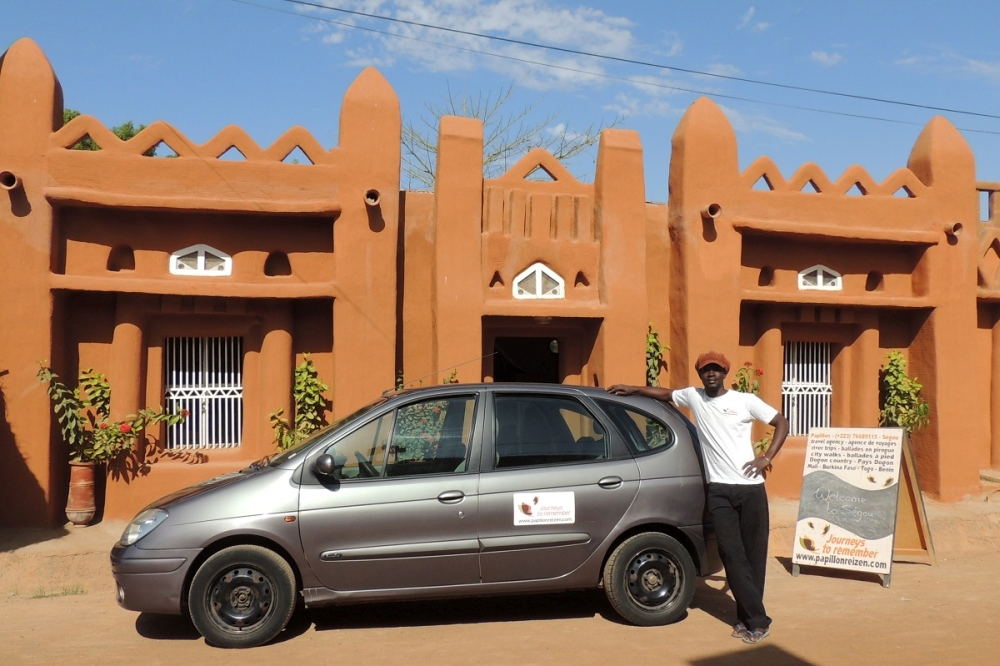 kantoor Papillon reizen Mali