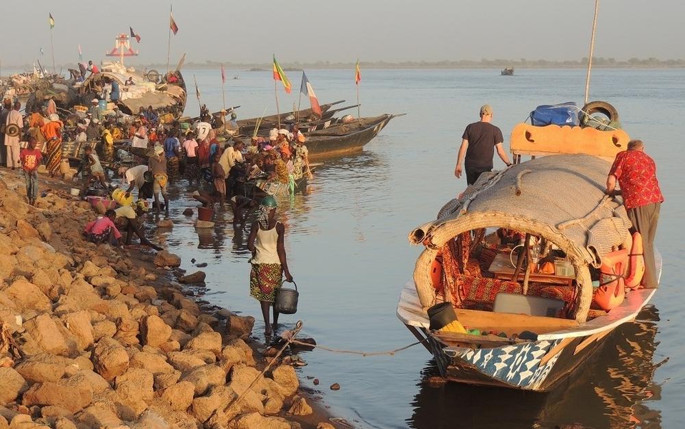 pinasse Segou-Mopi, Mali