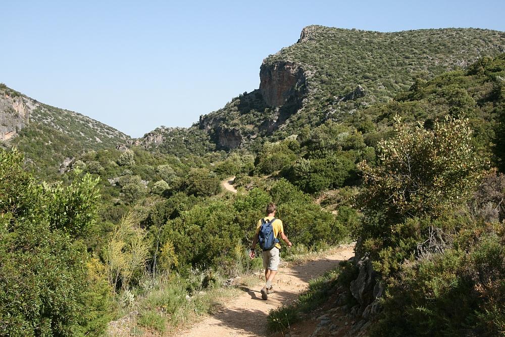 wandelen in Andalisië, het Grazalema Natural Park