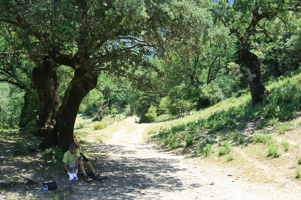 Grazalema Natural Park, picknick