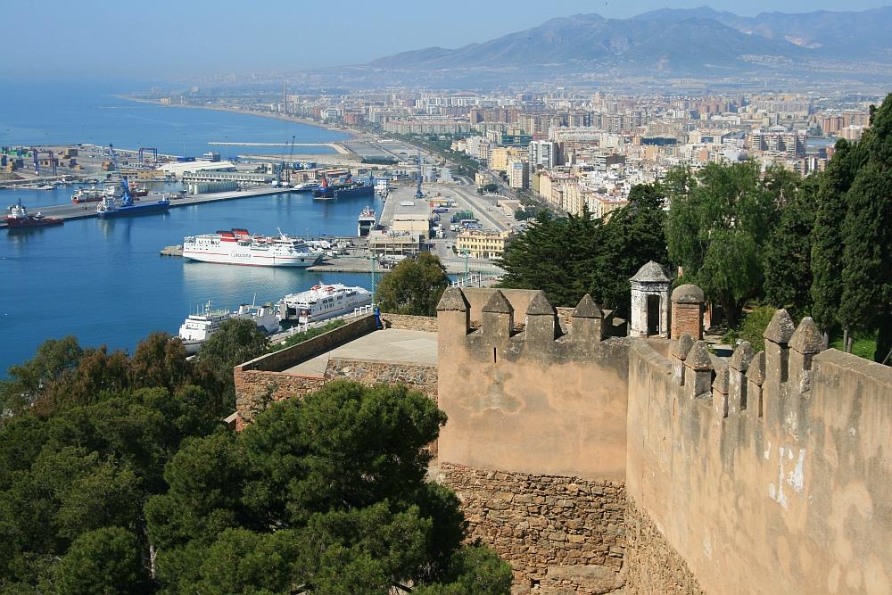 Malaga cityview