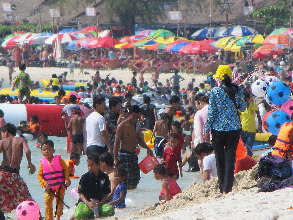 Sihanoukville at Chinese New Year