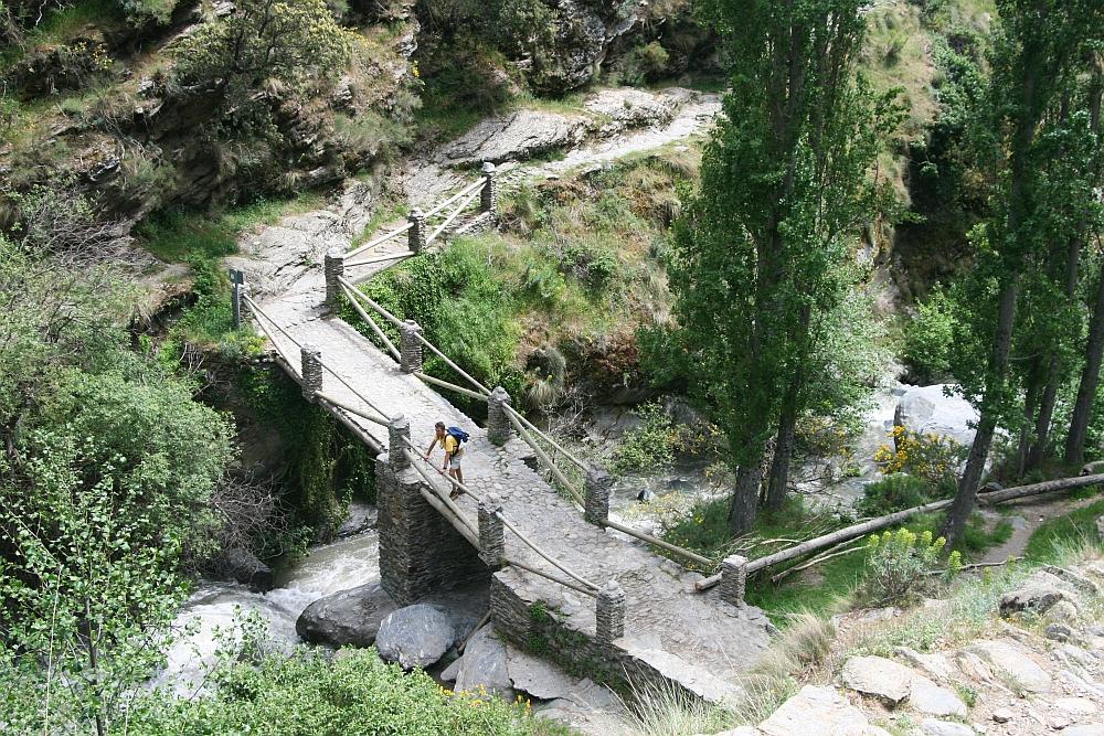 wandelen Alpujarras bij Capileira, actieve rondreis door Andalusië