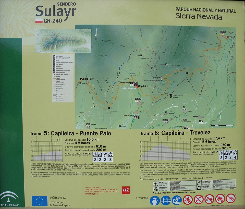 wandelen i de Alpujarras