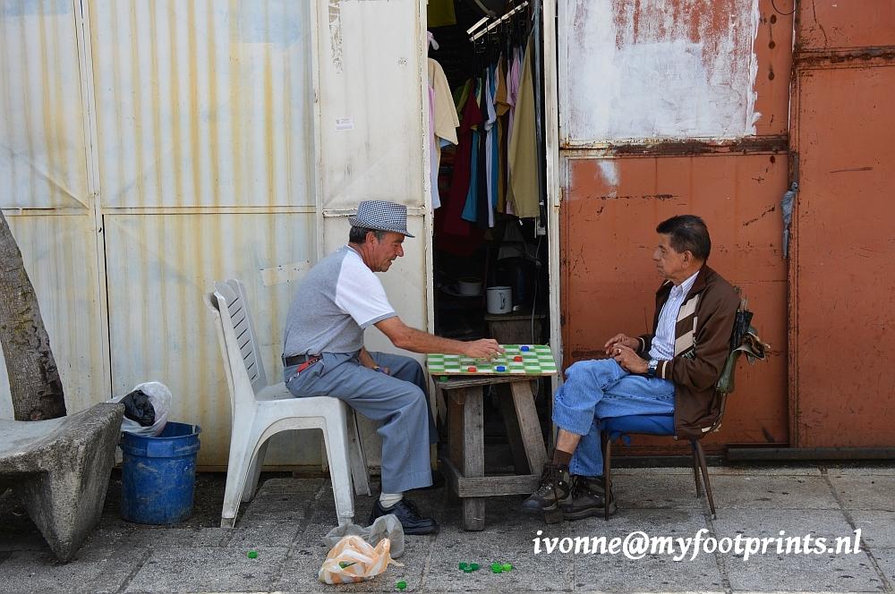 straatleven in San José, Costa Rica