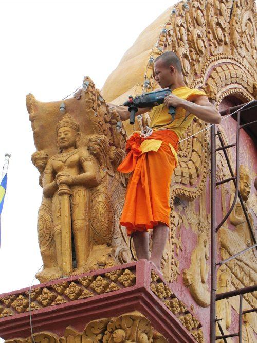 monnik Phnom Penh