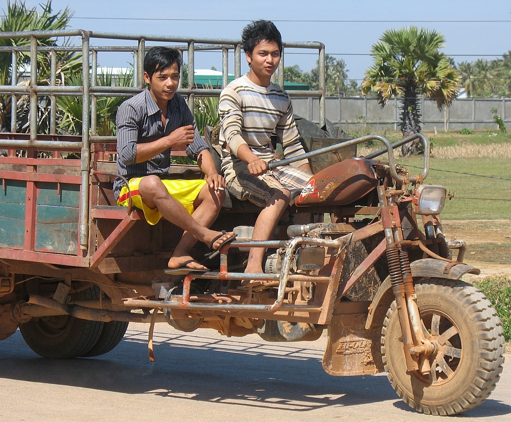 grensovergang van Cambodja
