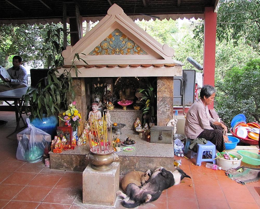 tempel Phnom Penh
