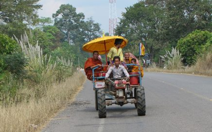 public transport, Angkor,Cambodia