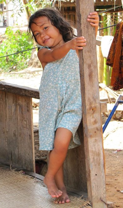 local girl at Siem Reap, Cambodia Portraits of the world