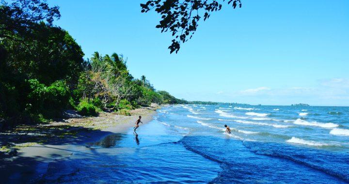 stranden op Ometepe Nicaragua