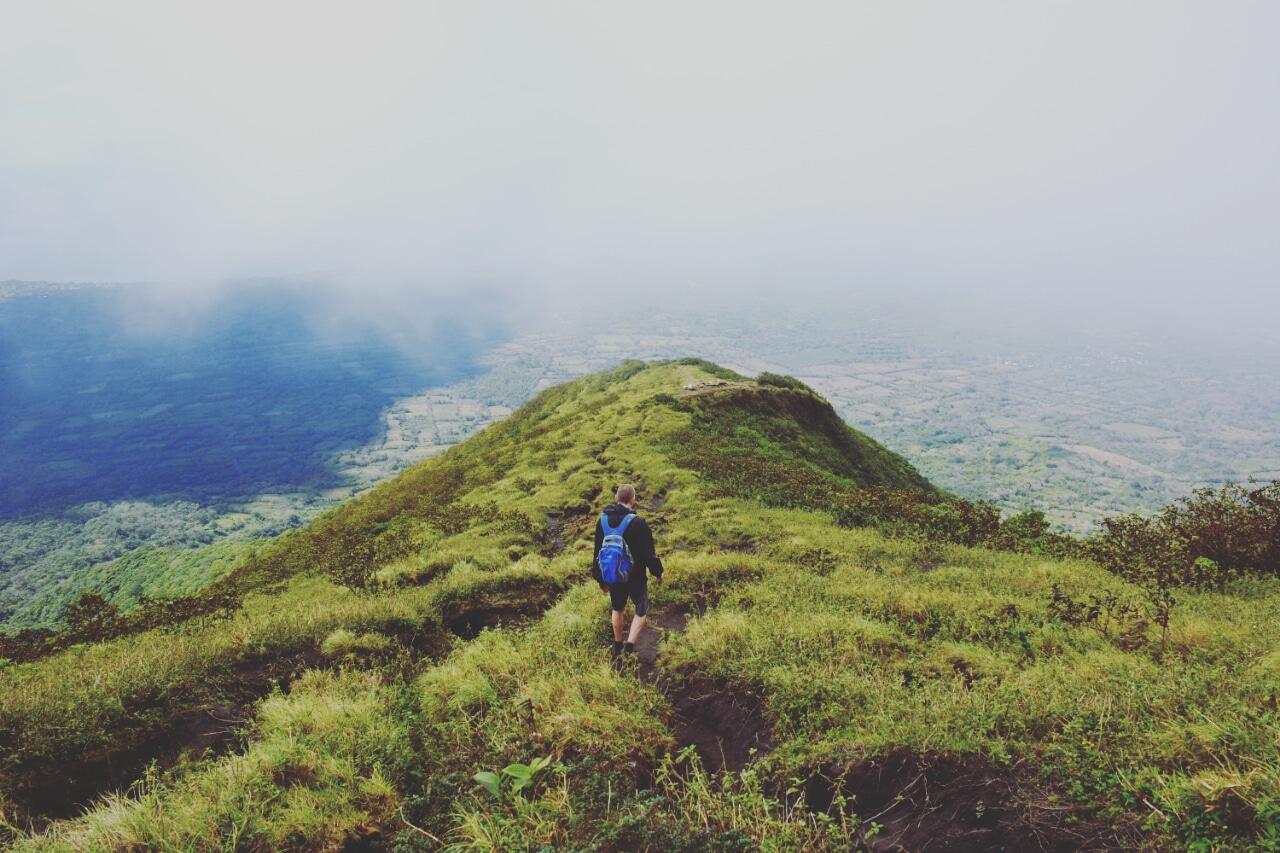 hike la Concepcion, Ometepe