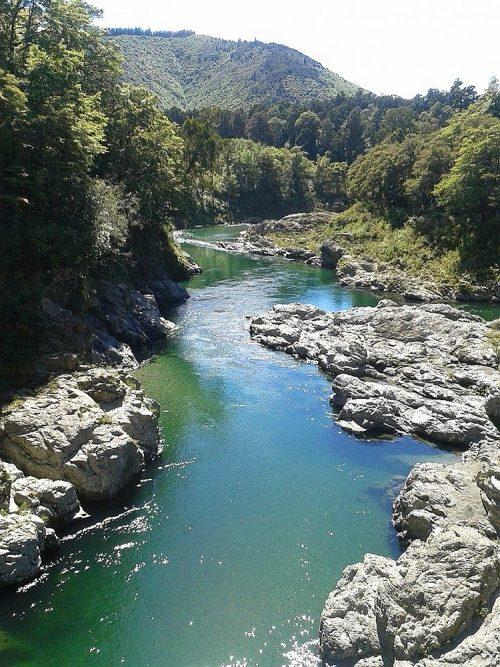 Pelorus rivier Zuidereiland Nieuw Zeeland