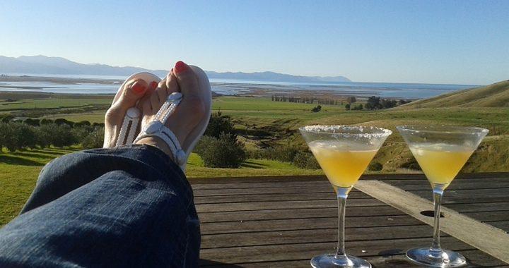 relaxen op het Zuidereiland van Nieuw Zeeland