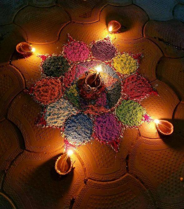 Tihar lichtjesfestival Nepal