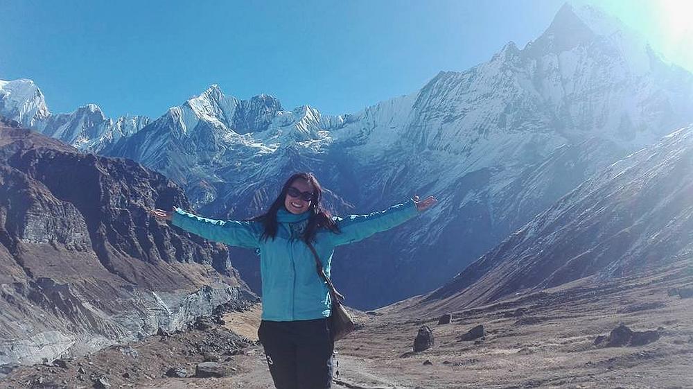 bergen in Nepal