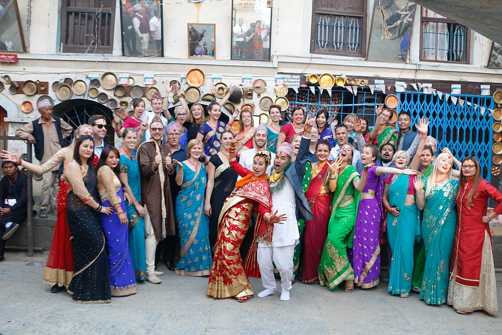 trouwen in Nepal