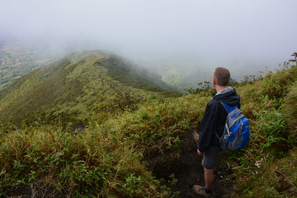 hike op Ometepe, vulkaan Concepciòn