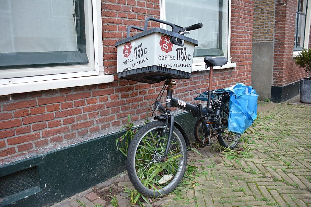 wandeling bij het oude dorp van Scheveningen.