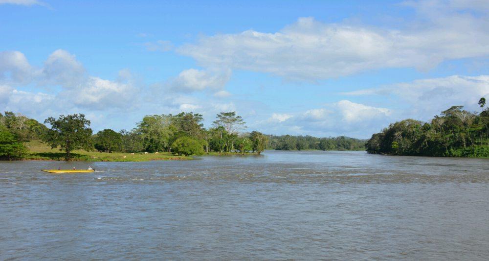 El Castillo, Rio San Juan Nicaragua van het gebaande pad