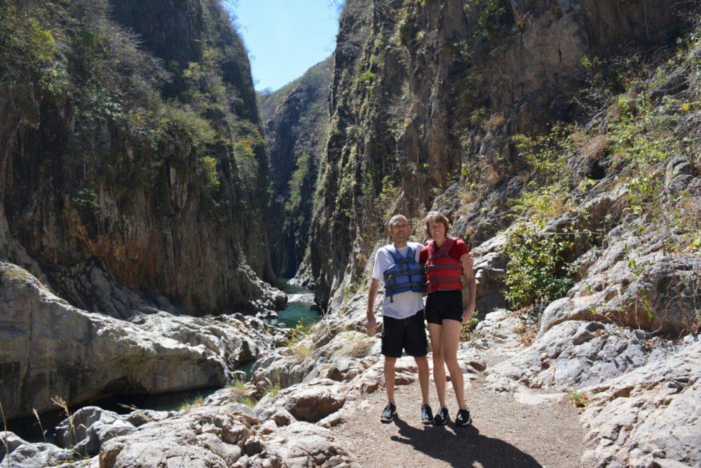 Nicaragua van het gebaande pad Somoto Canyon Nicaragua